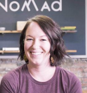 Erin Schubert, Wooded Nomad, Website Design Client