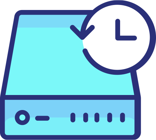Icon server and clock - website backups